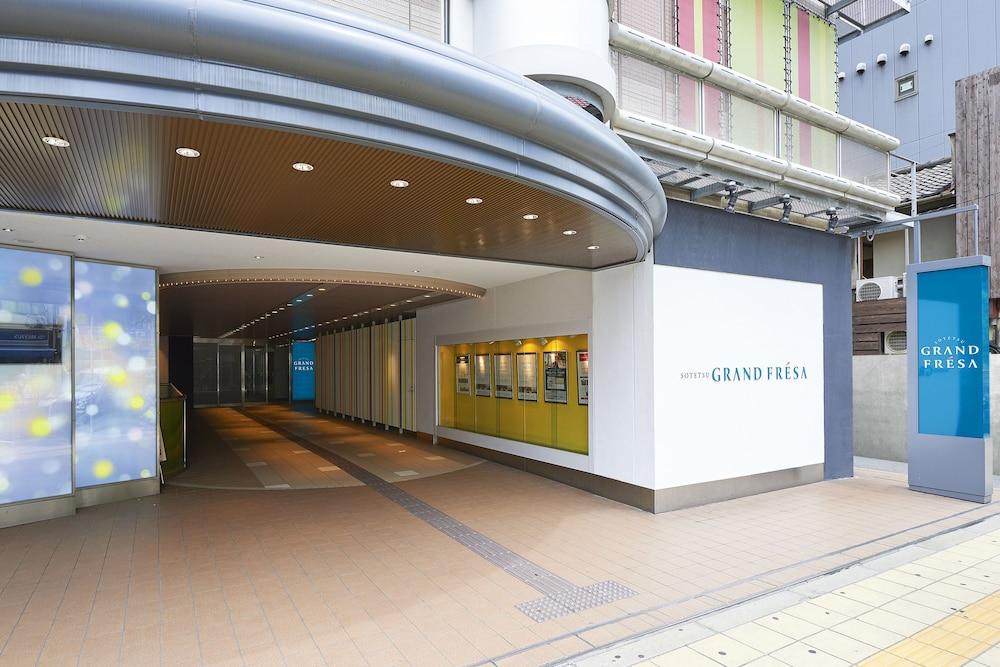 日本橋駅より徒歩2分で大阪各所へのアクセスに便利♪【相鉄グランドフレッサ大阪なんば】