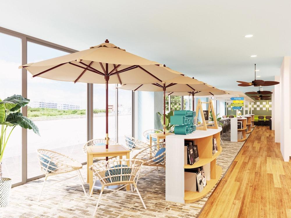 2020年7月OPEN!開放的なライブラリーカフェ完備でワーケーションにも最適☆【コンフォートホテル石垣島】